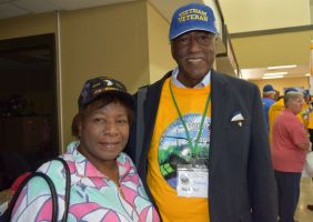 Herman Bell and his wife, Ida, were thrilled about the visit to Washington, D.C. (Donna Cope/Alabama NewsCenter)