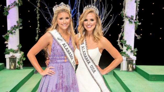 Kennedy Cromeens, Miss Alabama Teen USA, and Hannah Brown, Miss Alabama USA. (Photograph courtesy of Hannah Brown)