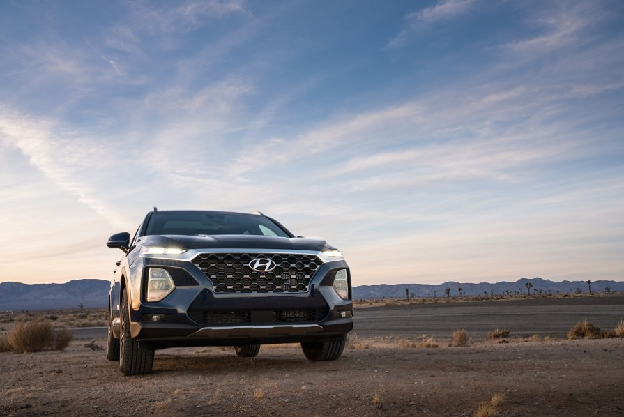 The 2018 Santa Fe is being produced at Hyundai Motor Manufacturing of Alabama. (Hyundai)