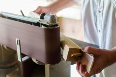 Roger Fritz has found a ready market for his craftsmanship. (Mark Sandlin/Alabama NewsCenter)