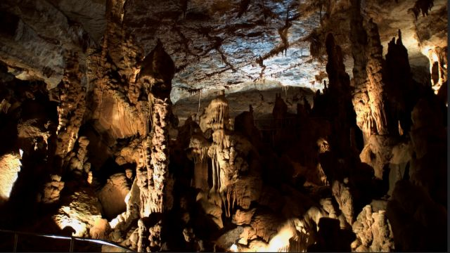 The caves at Cathedral Caverns State Park are closed. (Alabama State Parks)