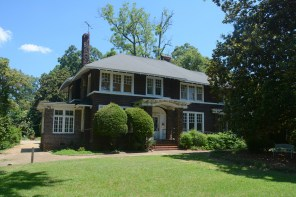 This house in Montgomery is believed to be the only surviving home where F. Scott and Zelda Fitzgerald lived together. (Karim Shamsi-Basha/Alabama NewsCenter)
