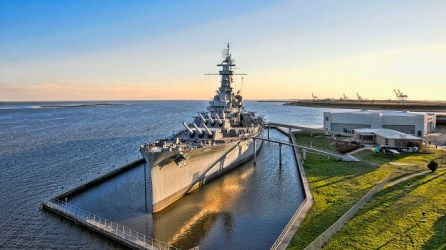 Bells will toll on the USS Alabama Sunday as part of the national Bells of Peace observance. (file)
