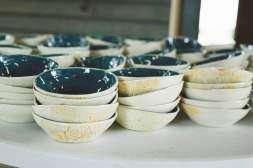 Wedding bowls by Lana Hobbs. (Thrive Clay Studio)