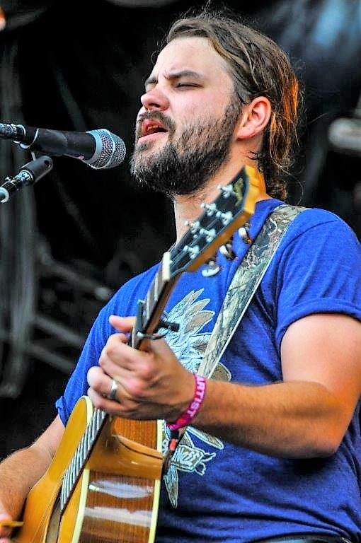 Brent Cobb performs Sunday at Sloss Fest 2018 in Birmingham. (Billy Brown / Alabama NewsCenter)