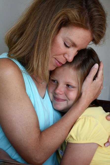 "A mother's love for her daughter led Erin Miller to write ""Fighting for Kate."" (Karim Shamsi-Basha/Alabama NewsCenter)"