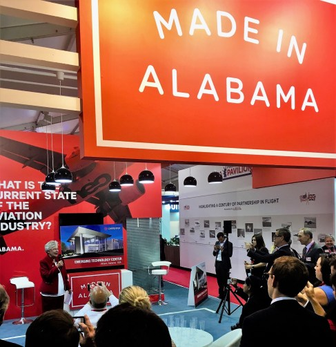 Gov. Kay Ivey announces Carpenter Techology's plans to expand its operations in Athens. (contributed)