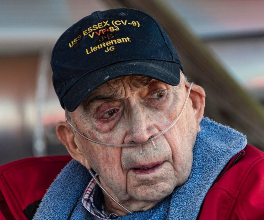 Navy veteran Raeford Liles during a fishing trip and day on Lake Logan Martin. (Bernard Troncale/Shorelines)