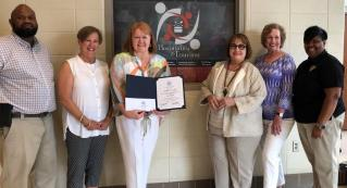 The Birmingham chapter of Les Dames d'Escoffier International awarded teacher's grants to Birmingham City Schools. (contributed)