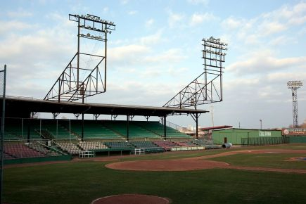 Rickwood Field, Birmingham, 2010. (The George F. Landegger Collection of Alabama Photographs in Carol M. Highsmith's America, Library of Congress, Prints and Photographs Division)