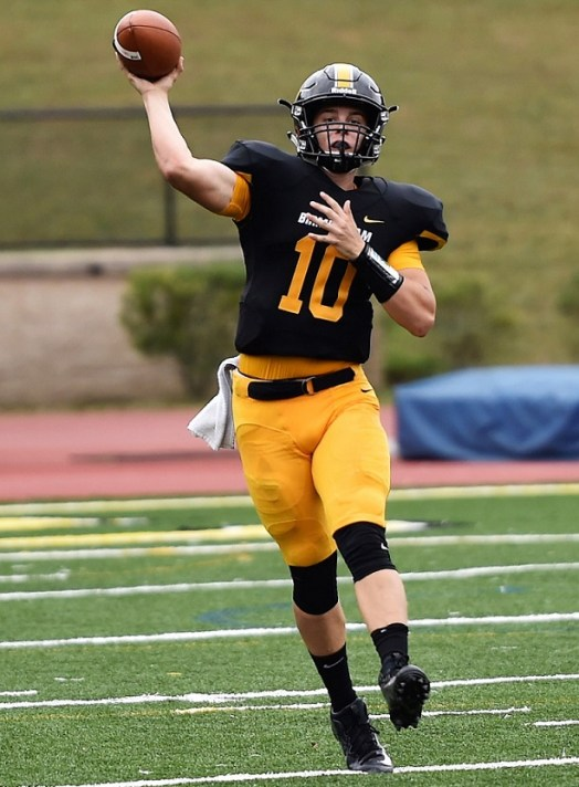 Quarterback Trevor Oakes is back with a year's experience as Birmingham-Southern's starting quarterback. (Birmingham-Southern College Athletics)
