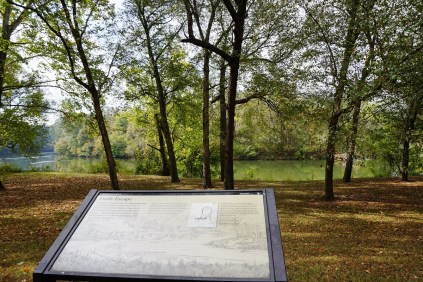 Tour Road at Horseshoe Bend National Military Park. (Alabama NewsCenter)