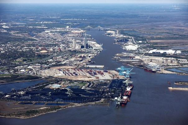 The Alabama State Port Authority covers 4,000 acres in Mobile. (Alabama State Port Authority)