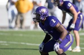 Linebacker Joshua Amanfo. (University of North Alabama Athletics)