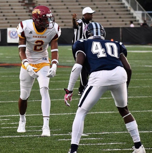 Wide receiver Javarrius Cheatham. (Tuskegee University Athletics)