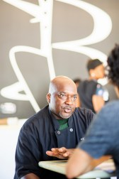 Tony Bayles said he's passionate about providing good food to the community for a good price. (Charlestan Helton/Alabama NewsCenter)