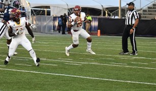 Returning quarterback Jamarcus Ezell is on the SIAC preseason first team. (Tuskegee University Athletics)