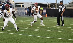 Returning quarterback Jamarcus Ezell is on the SIAC preseason first team. (Tuskegee University Athletics)