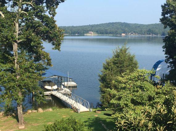 Logan Martin Lake. Alabama Power lakes are open for recreation. (Donna Cope/Alabama NewsCenter)