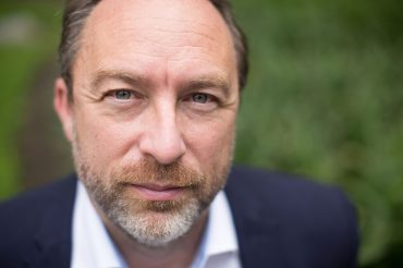 Jimmy Wales at Wikimania, 2015. (VGrigas (VMF), Wikipedia)