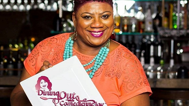Cassandra 'Comedienne Joy' King skillfully serves jokes and good eats