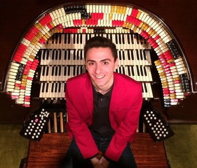 Returning to Sidewalk for the second year in a row, organist Nathan Avakian is one of the founders of the International Youth Silent Film Festival. (Photo courtesy of Nathan Avakian)