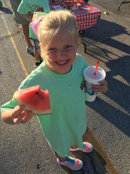Franklin County's Watermelon Festival is packed with two days of family fun, which includes arts and crafts, a 5K run, pageant, antique car and truck show, tractor show, bike ride, free watermelon and more. (Contributed)