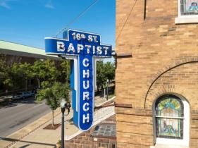 The Sixteenth Street Baptist Church in Birmingham is competing for a $150,000 historic preservation grant. (contributed)