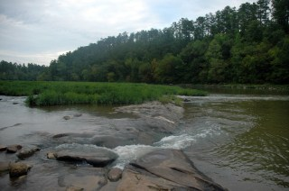The Cahaba River at the Cahaba River National Wildlife Refuge. (Garry Tucker/U.S. Fish and Wildlife Service)