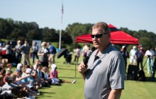 Golf pros gave 300 kids pointers on the game and shared some core values during the Alabama Power Junior Clinic at the Robert Trent Jones Golf Trail at Capitol Hill in Prattville. (Chris Jones/Alabama NewsCenter)