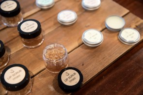 Swann Soap Company produces a number of skin-care products. (Brittany Faush / Alabama NewsCenter)