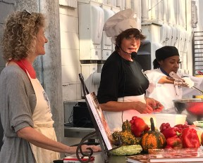 Kathy G. & Co. will offer live cooking demonstrations at The Market at Pepper Place July 27. (Hannah Beasley)