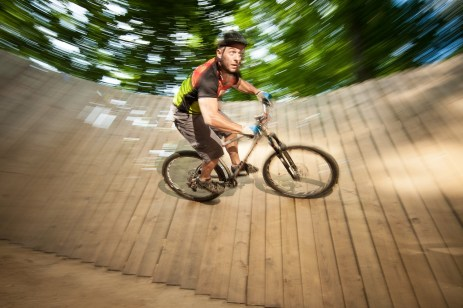 Alabama's terrain is so varied that its state parks and Forever Wild lands offer a wide range of biking experiences for riders of all skill levels. (Billy Pope/Alabama Department of Conservation and Natural Resources)