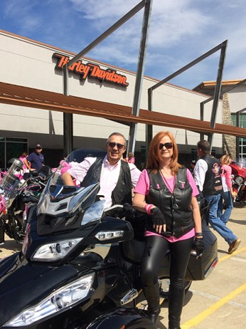 "In support of Breast Cancer Awareness Month, join Heart of Dixie Harley-Davidson for the 10th annual ""Revvin' 4 Research"" charity ride. (Contributed)"