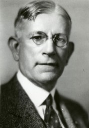 George Denny (1870-1955) served as president of the University of Alabama for 25 years, overseeing a major expansion of the institution's facilities, student body and curriculum. He is also known as the leading force in raising the profile of the school's football program. (From Encyclopedia of Alabama, courtesy of W.S. Hoole Special Collections Library, The University of Alabama Libraries)
