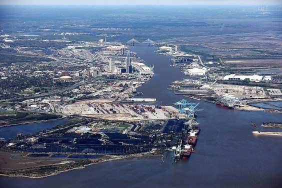 The Port of Mobile needs deepening and widening, officials say. (Alabama State Port Authority)