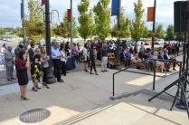 Several turned out to hear the plans for the Birmingham World Games in 2021, which begin in 1,000 days. (Michael Tomberlin / Alabama NewsCenter)