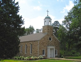 The Nan Roberts Lane Chapel on the campus of Kate Duncan Smith DAR School in Grant, Alabama.