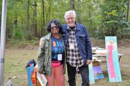 Ruth Robinson believes her journey through art is part of a divine plan. (Michael Tomberlin/Alabama NewsCenter)