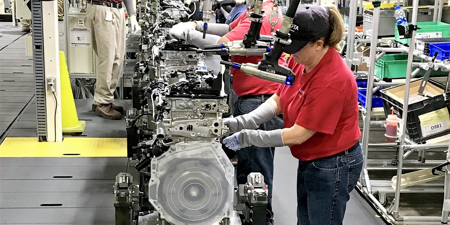 Awesome A $106 Million Project To Replace The Four Cylinder Engine Line At Toyota  Motor Manufacturing