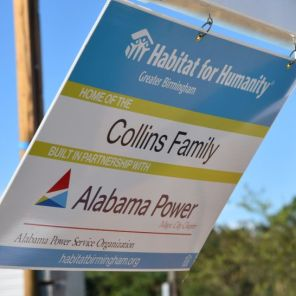 Partnership and teamwork made this Pleasant Grove Habitat home possible for the Collins family. (Dennis Washington)