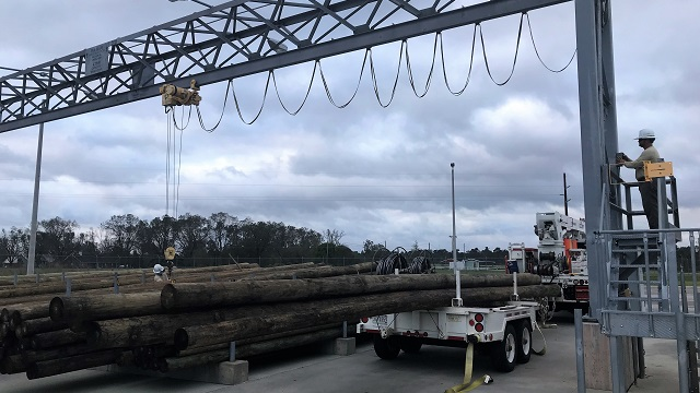 Nearly 1,250 additional Alabama Power company and contracting crews were sent to the hardest hit parts of Alabama to assist with storm restoration