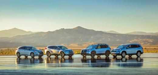 The new Honda Passport fits in between the CR-V and Pilot in Honda's SUV line. (Honda)