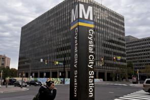 Crystal City in Arlington, Virginia will be part of the split Amazon.com HQ2 second headquarters project. (Andrew Harrer/Bloomberg)