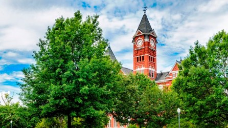 The Samford Hall chimes at Auburn University will be among the bells ringing at 11 a.m. Sunday to mark the end of World War 1 a century earlier. (iStock)