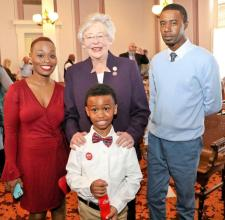 Gov. Kay Ivey led the celebration of Alabama's 199th birthday and kicked-off the year-long celebration leading up to the 200th. (contributed)