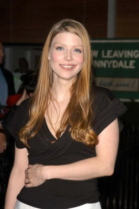 "Actress Amber Benson at ""Buffy the Vampire Slayer"" wrap party, April 18, 2003. (Patrick Lee, Flickr, Wikipedia)"