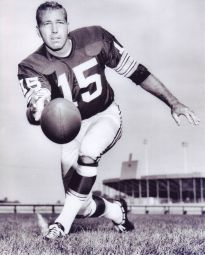 American football player Bart Starr. (Wikipedia)