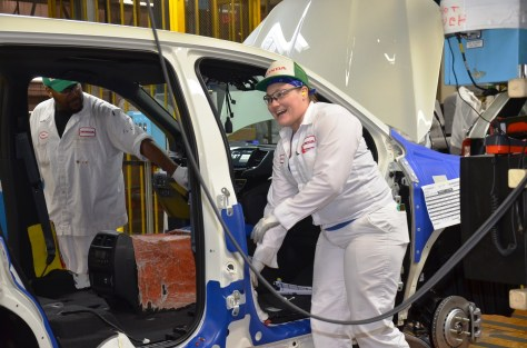 Honda Alabama launched mass production of the all-new Passport SUV at the automaker's assembly plant in Talladega County, where the Odyssey minivan, Pilot SUV and Ridgeline pickup are built. (Honda)