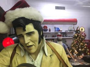 The Classic Cars and Garage Museum in Trussville isn't having a blue Christmas. (Donna Cope)